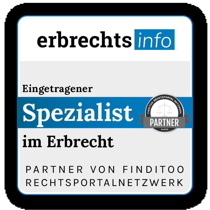 Siegel Rechtsportalnetzwerke-Erbrechtsinfo Siegel
